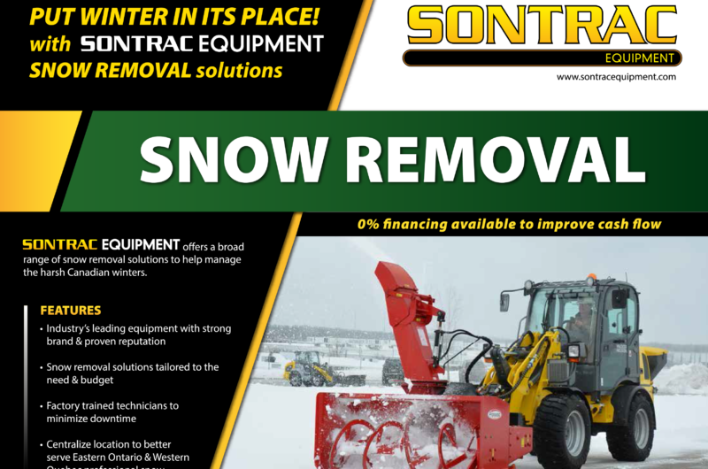 SONTRAC SNOW 2018 cover page